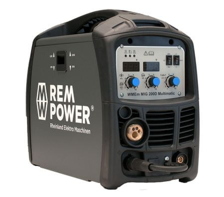 REM POWER varilni aparat WMEm MIG 200 Basic Line