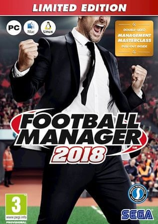 Sega Football Manager 2018 Limited Edition (PC)