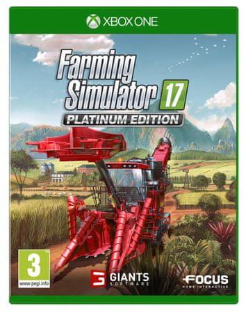 Focus Farming Simulator 17 -Platinum Edition (Xbox One)