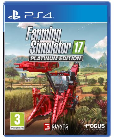 Focus Farming Simulator 17 -Platinum Edition (PS4)