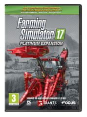 Focus Farming Simulator 17 -Platinum Expansion (PC Expansion)