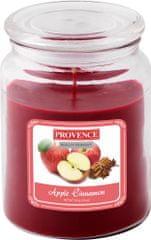 TORO Sviečka v skle Jablko + škorica 510 g