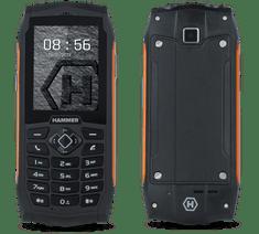 myPhone HAMMER 3, DualSIM, oranžový - rozbaleno
