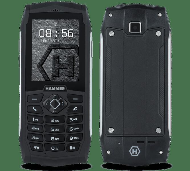 myPhone HAMMER 3, DualSIM, stříbrný