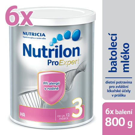 Nutrilon 3 HA - 6 x 800g