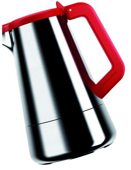 Viceversa Moka konvička/kávovar na espresso červená - zánovní