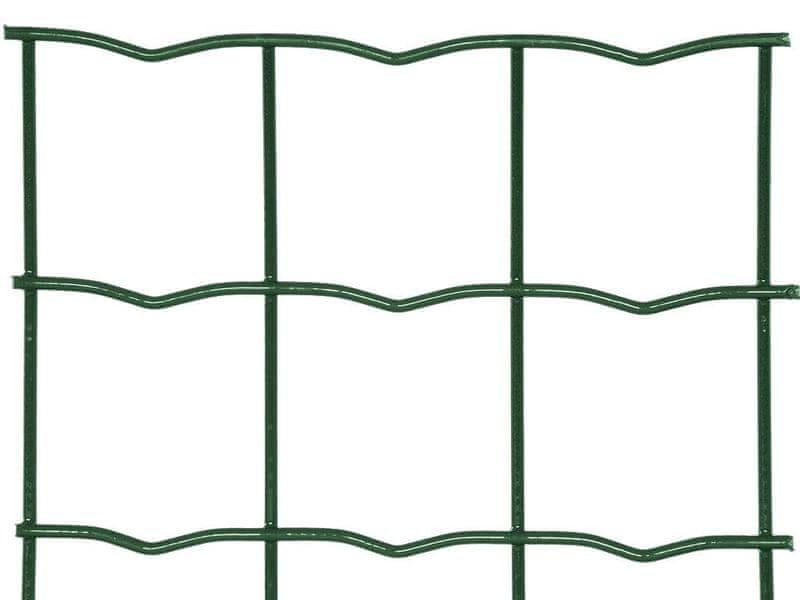 Zahradní síť SUPER STRONG poplastovaná Zn+PVC - výška 200 cm, role 20 m