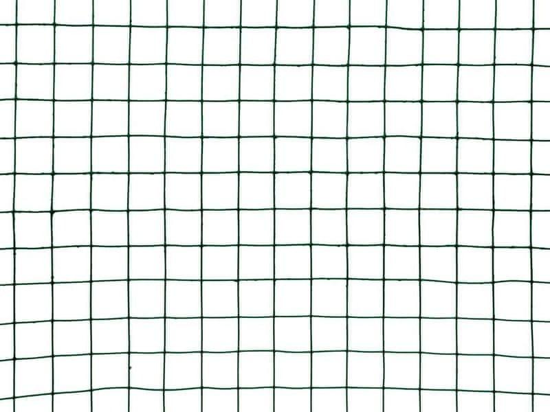 Chovatelská svařovaná síť Zn+PVC - oko 19,0 mm, výška 50 cm, role 5 m