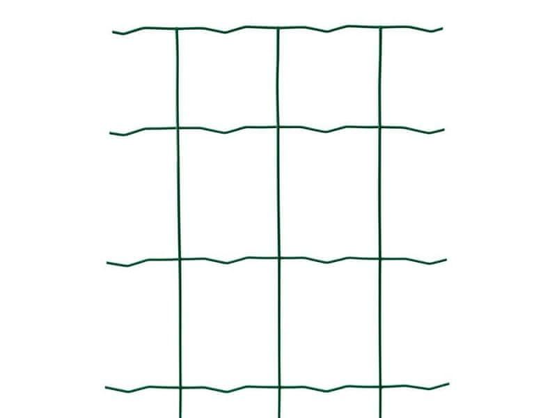 zahradní síť LIGHT PLUS poplastovaná Zn+PVC - výška 150cm, role 25 m