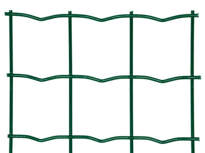 Zahradní síť HEAVY poplastovaná Zn+PVC - výška 180 cm, role 25 m