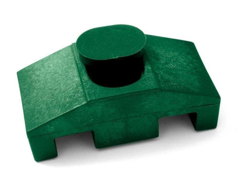 Příchytka PVC pro panely SUPER - barva zelená