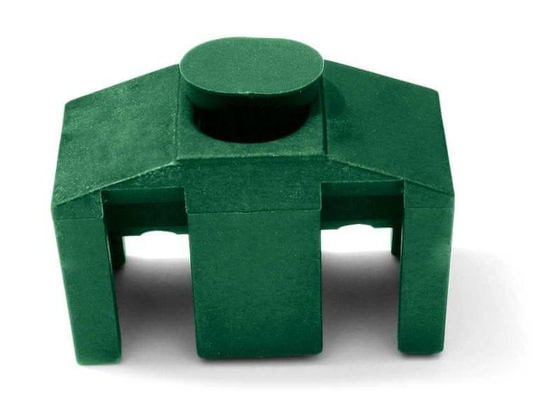 Příchytka PVC pro panely CLASSIC - barva zelená