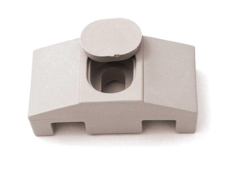 Příchytka PVC pro panely SUPER - barva šedá