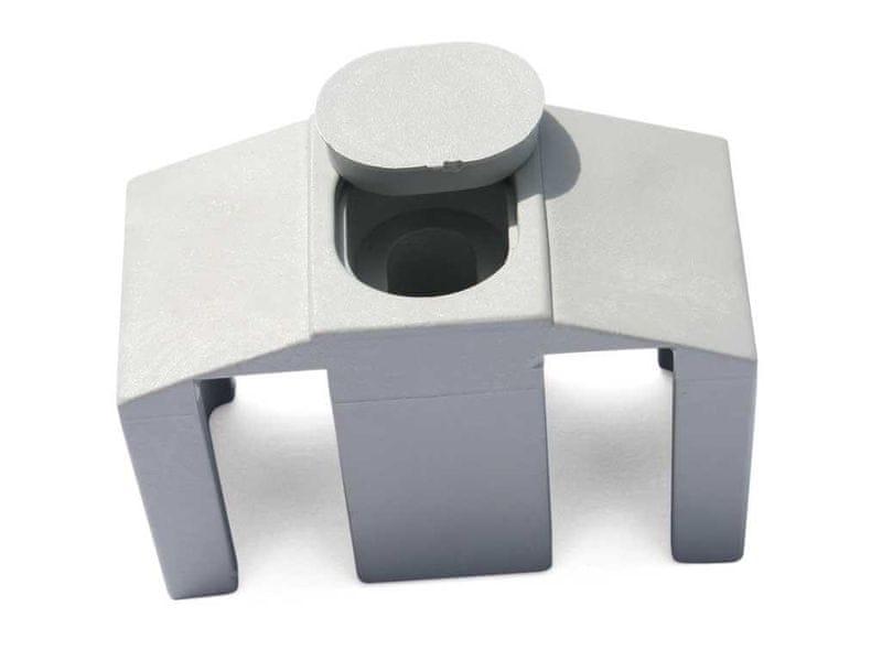 Příchytka PVC pro panely CLASSIC - barva šedá