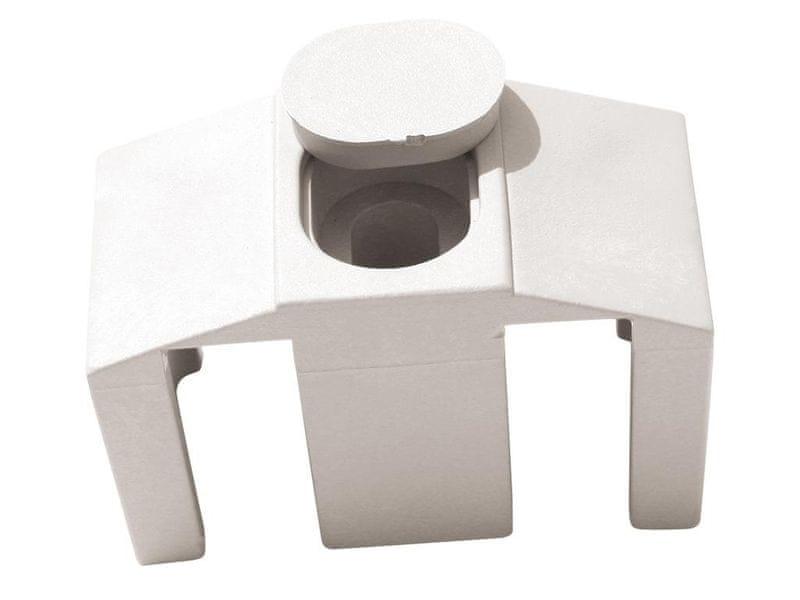 Příchytka PVC pro panely CLASSIC - barva bílá