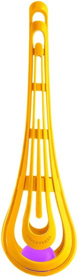Viceversa Míchací mísa žlutá se šlehací metličkou