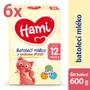 1 - Hami 12+ Vanilka 6 x 600g