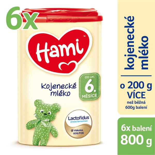 Hami 6+ 6 x 800 g