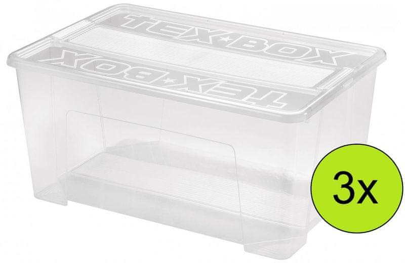 Heidrun Tex Box 48 l, 3 ks
