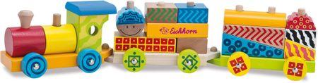 Eichhorn Drewniany pociąg, 18 części