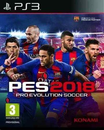 Konami PES 2018 PS3