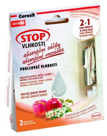 Ceresit apsorbirajuće vrećice protiv vlage, s mirisom voća, 2 komada