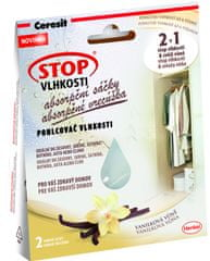 Ceresit Stop vlhkosti Absorpčné vrecká vanilka