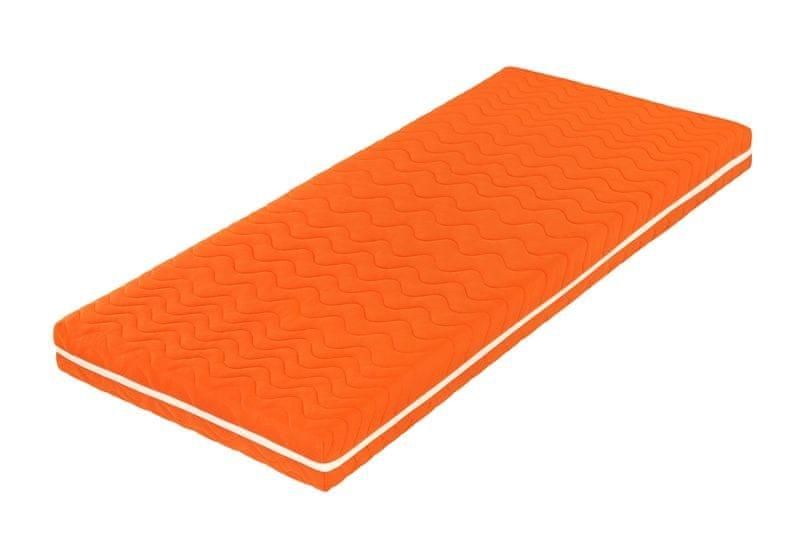 Tropico Šárka Top v potahu COLOR (oranžová) - 90x200 cm
