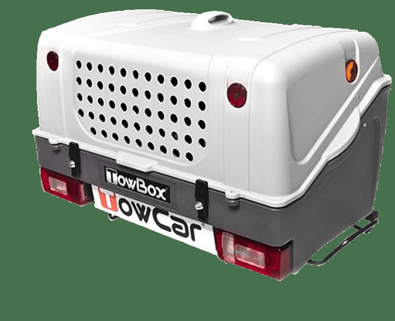 TowBox V1 DOG na tažné zařízení - šedá, BOX V1
