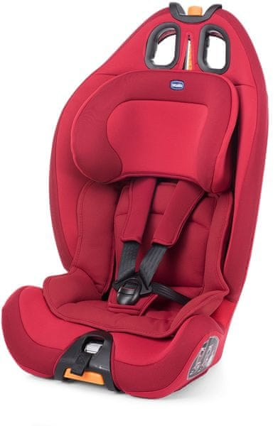 Chicco Autosedačka Gro-up 123 9-36 kg, RED PASSION