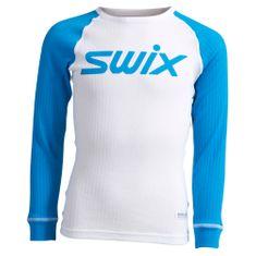 Swix RaceX triko dl.rukáv jr. bílá/modrá, vel. 152 - rozbaleno