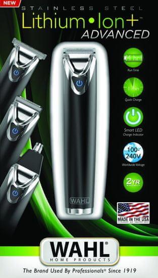 Wahl 9864-016 Li+ Advanced Haj- és szakállvágó gép