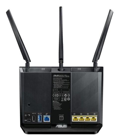 Asus gigabitni brezžični usmerjevalnik RT-AC86U Dual-band WiFi AC2900