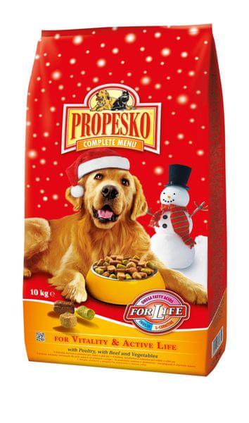 Propesko granule pes Vitality 10 kg Zimní edice