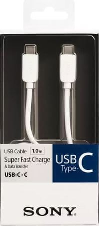 Sony podatkovni kabel USB, tip C, 1 m