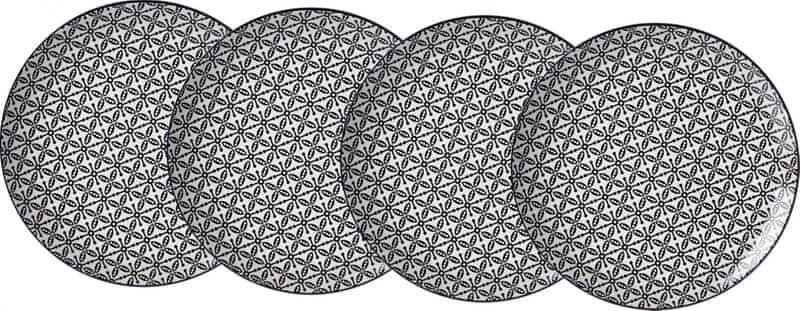 Ritzenhoff&Breker Takeo Leaves 21,5 cm dezertní talíř 4 ks