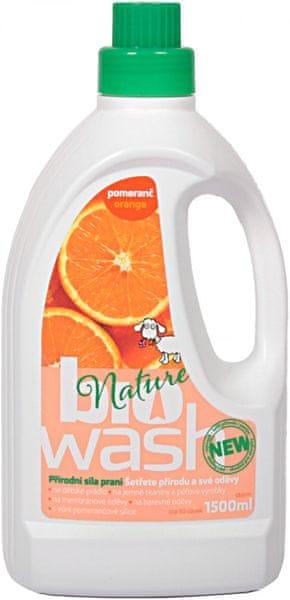 BioWash s pomerančovou silicí 1,5 l (50 praní)