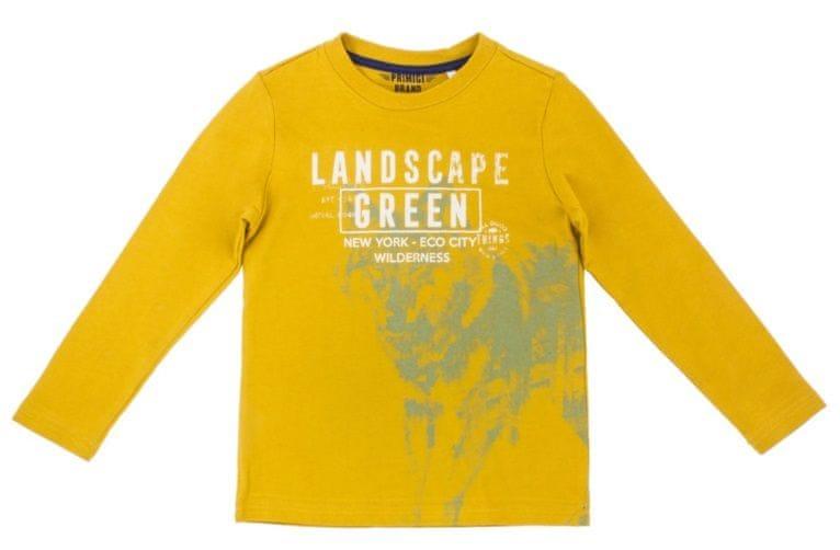 Primigi chlapecké tričko žlutá 140