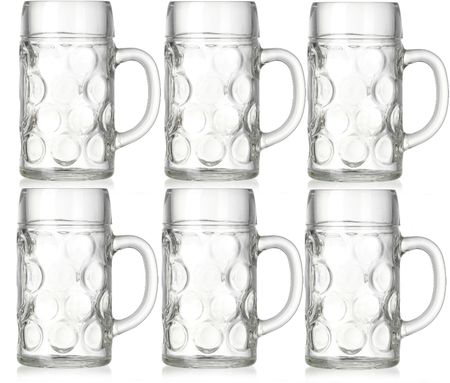 Ritzenhoff&Brecker Jupp poháre na pivo 500 ml, 6 ks