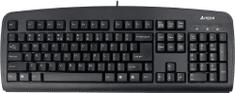 A4Tech KB-720, tenká klávesnice, CZ, USB, černá