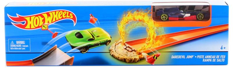 Hot Wheels Hrací souprava ohromný skok Daredevil Jump