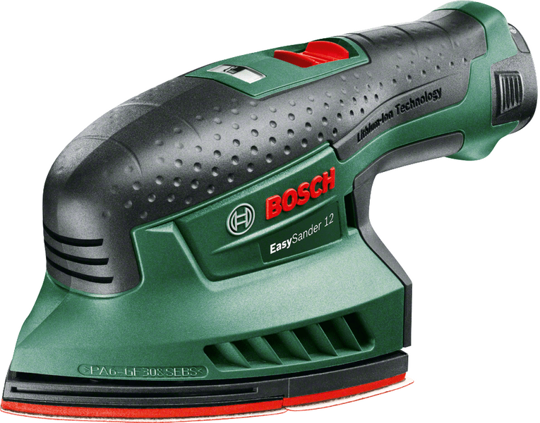 Bosch EasySander 12 (1 x aku 2,5 Ah)