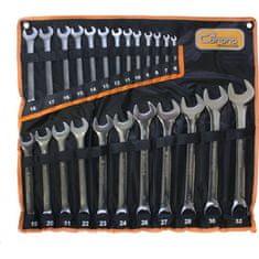 CORONA Lapos kulcskészlet 6-32 mm 24 drb króm