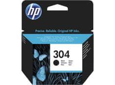HP tinta 304, crna, 120 stranica (YN9K06AE)