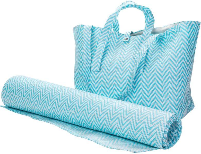 Wittkemper Plážová taška s plážovou podložkou, tyrkysová