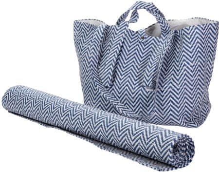Wittkemper vrečka in brisača za na plažo, temno modrna