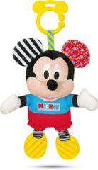 Clementoni Mickey plyšový se zvuky a úchytem