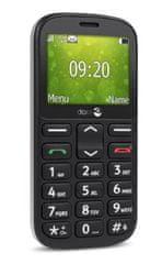 Doro GSM telefon 1360, črn