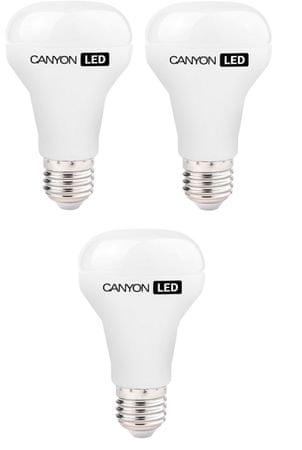 Canyon LED žarnica R63, E27, 6 W, naravna bela (R63E27FR6W230VN), trojno pakiranje