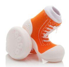 Attipas chlapecké botičky Sneakers Orange